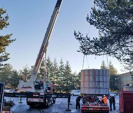 Shroud Water Tank Move